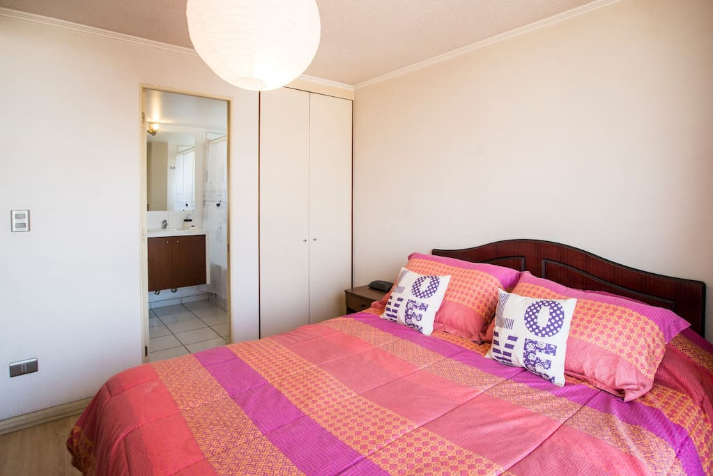Apartment in the heart of Santiago