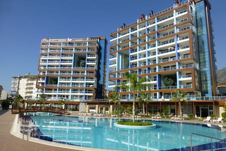 Nybyggd 2a i lugnt område i Alanya - Appartement