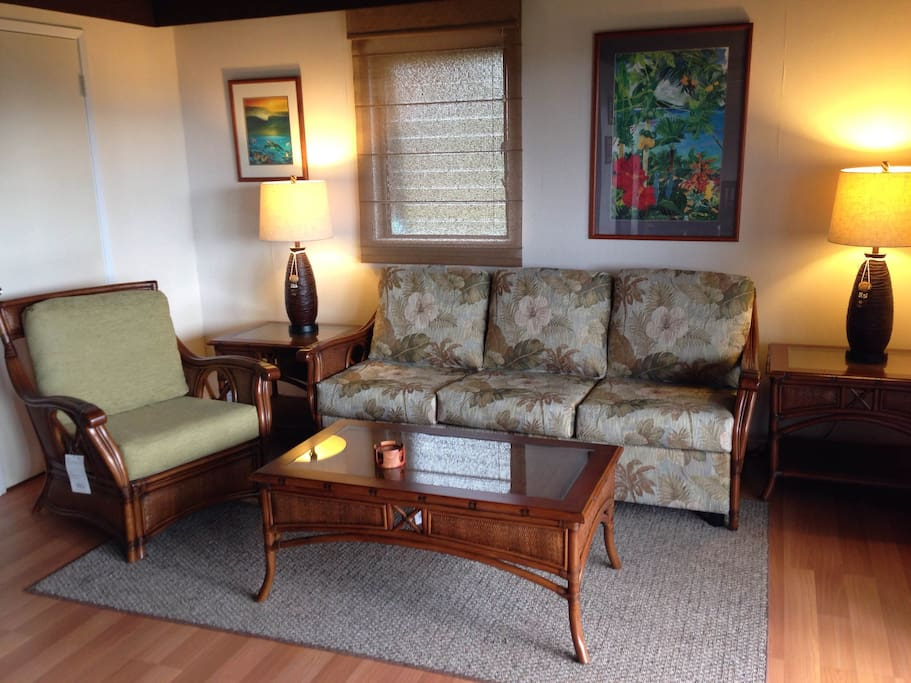 New living room furniture with sofa bed