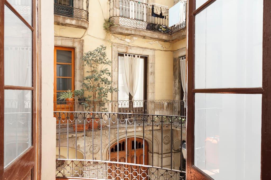 Spacious apartment & great location