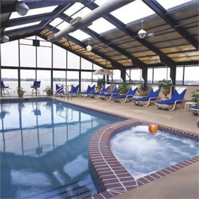 Oceanfront Condo Indoor Pool Beach Condominiums For Rent In Virginia Beach
