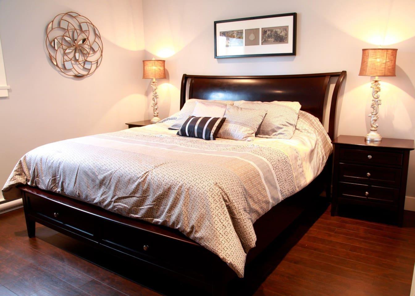 Vera Wang King Size Bed