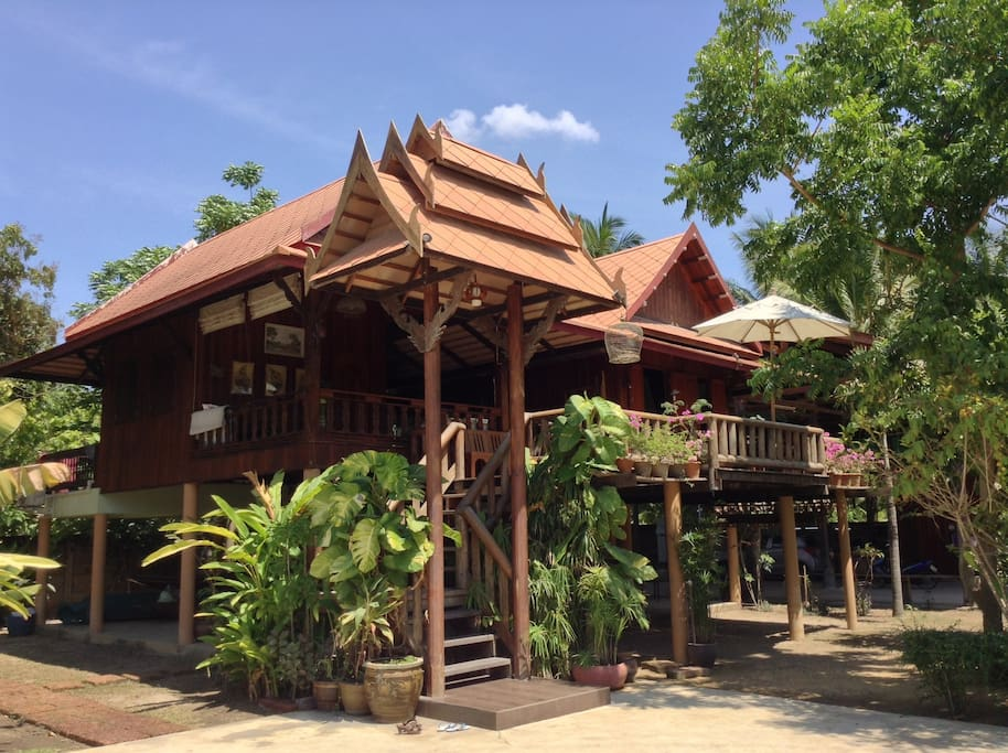 Darawati, a Traditional, Wooden Thai House