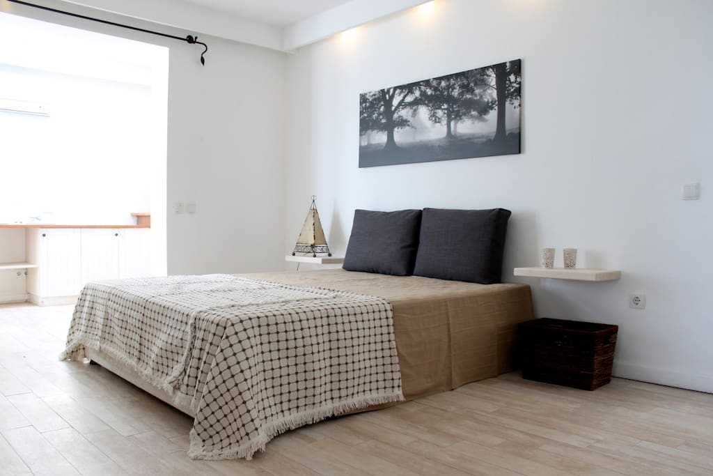 Bedroom with air-conditioning
