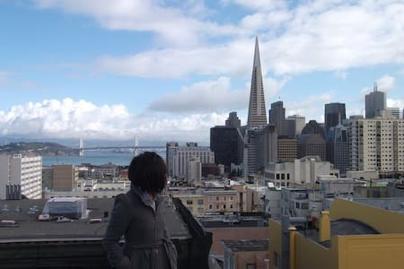 Nob Hill room with a great view - San Francisco - Apartment