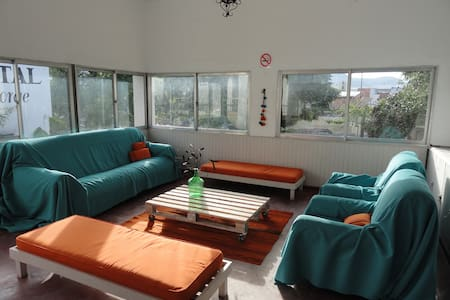 The Hostal offers a very nice place  in Salta, Starting from its location, situated in one of the distinctive features of tourism in Salta, on the  Paseo de los Poetas  and half block from Peña Balderrama.