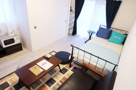 1BR! Perfect location for sightseeing in Hiroshima - Appartement