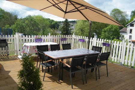 F1 bis  avec terrasse + parking     - Chantraine - Apartemen