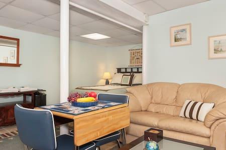 Boston airport suite 5 stars,subway - Winthrop - Apartment