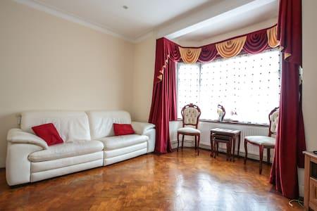 Comfortable double bedroom - House