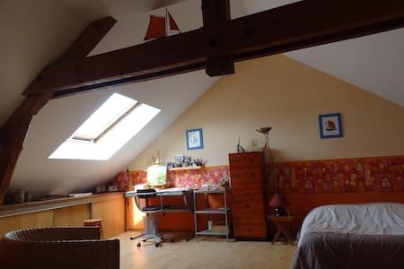 Grande chambre sympa + salle d'eau - Charleville-Mézières - House
