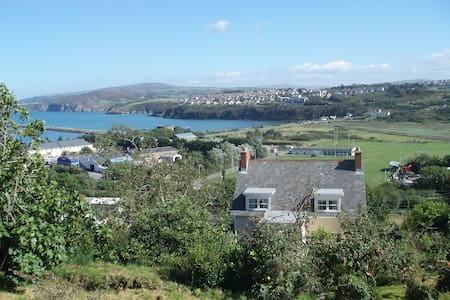 Comfy Victorian Villa with sea view - Fishguard - Bed & Breakfast