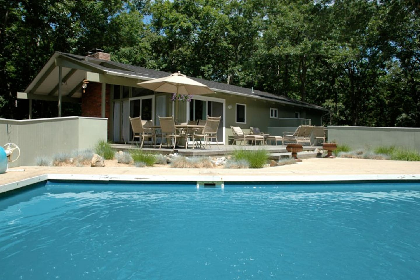 Huge Deck with 50'x20' Lap Pool (4' deep w/ shallow area @ other end)