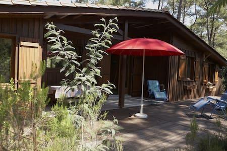 Grand bungalow (centre naturiste Euronat) - Grayan-et-l'Hôpital - Bungalow