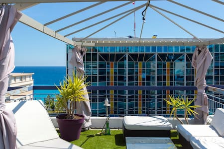 Awesome LOFT in front of the sea - Niza - Loft