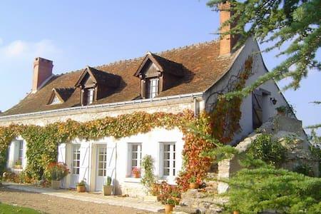 Typisches Ferienhaus im  Loiretal  - Haus