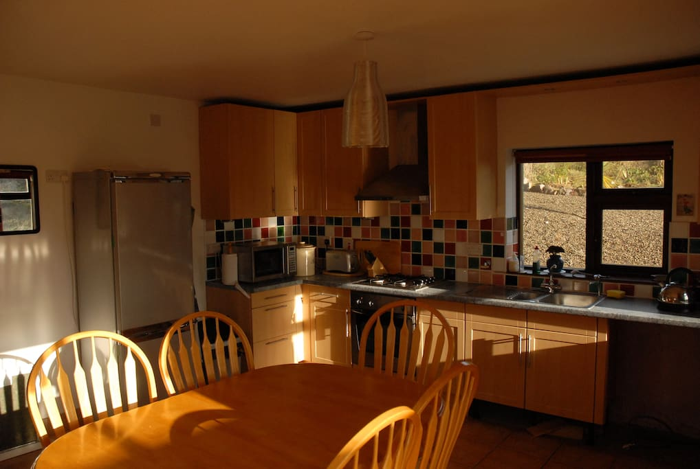All kitchen facilities available