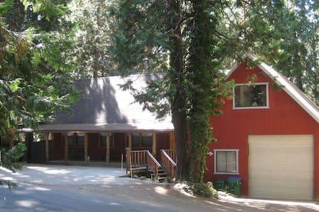 Spacious Cabin/Quiet/Snow&Lake Fun - Kisház