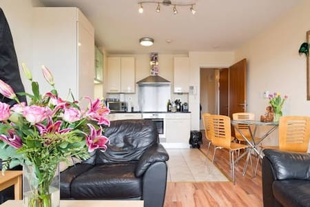 Friendly double bedroom apt with private bathroom - Dublin - Apartamento