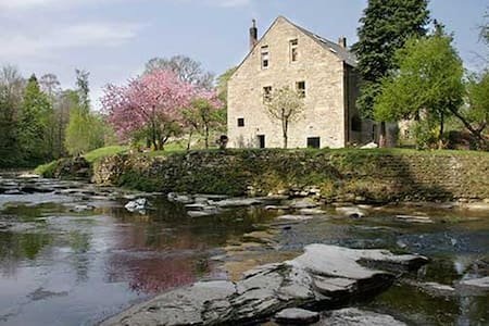 Dilston Mill is a self-serve B&B in a converted historic watermill on the banks of Devils Water in Northumberland.
