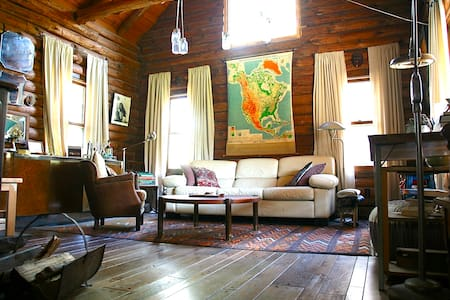 Perfect Eclectic and Cozy Log Cabin
