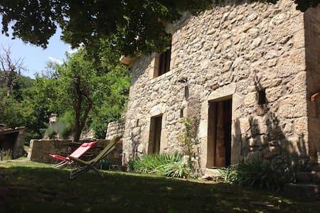 Maison de vacances en Ardèche - Huis