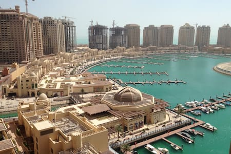 BEST LOCATION IN DOHA! PEARL APT. - Doha - Apartment