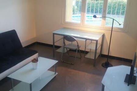 Chambre privé + jardin - Rumah