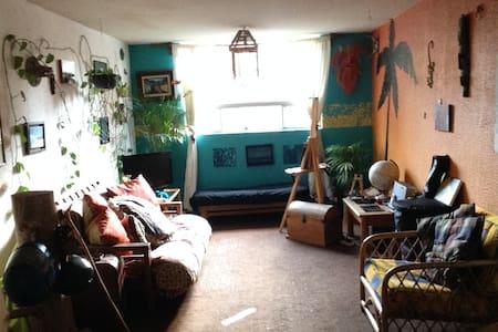Arte y chill out en Coyoacán. - Appartement