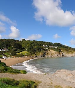 Rhianfa (means 'Rhian's place'; my name's Rhian!) - Aberporth