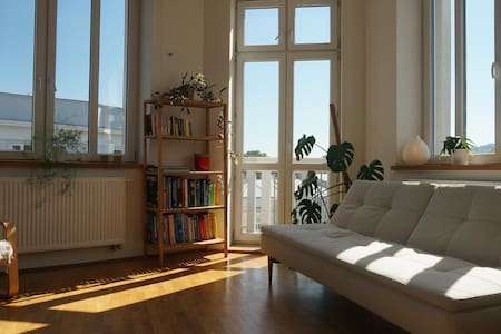 Sunny apartment in historic town - Przemyśl - Huoneisto