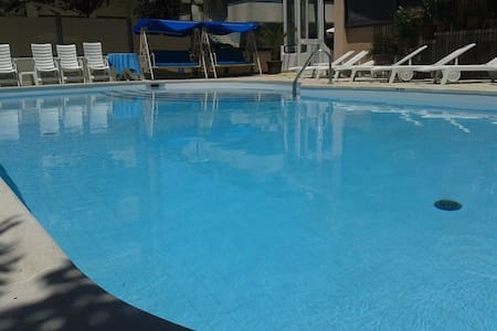 Double room with swimmingpool and parking - Cattolica