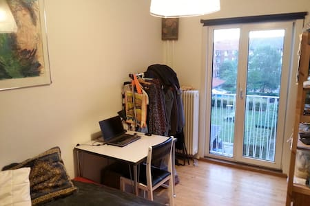 Double bed-room, authenticate eco friendly option - København - Apartment