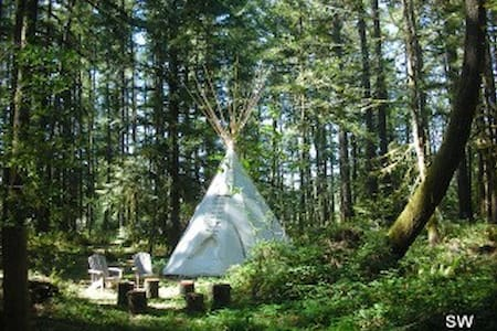 Sacagawea Tipi at Tipi Village - Tipi
