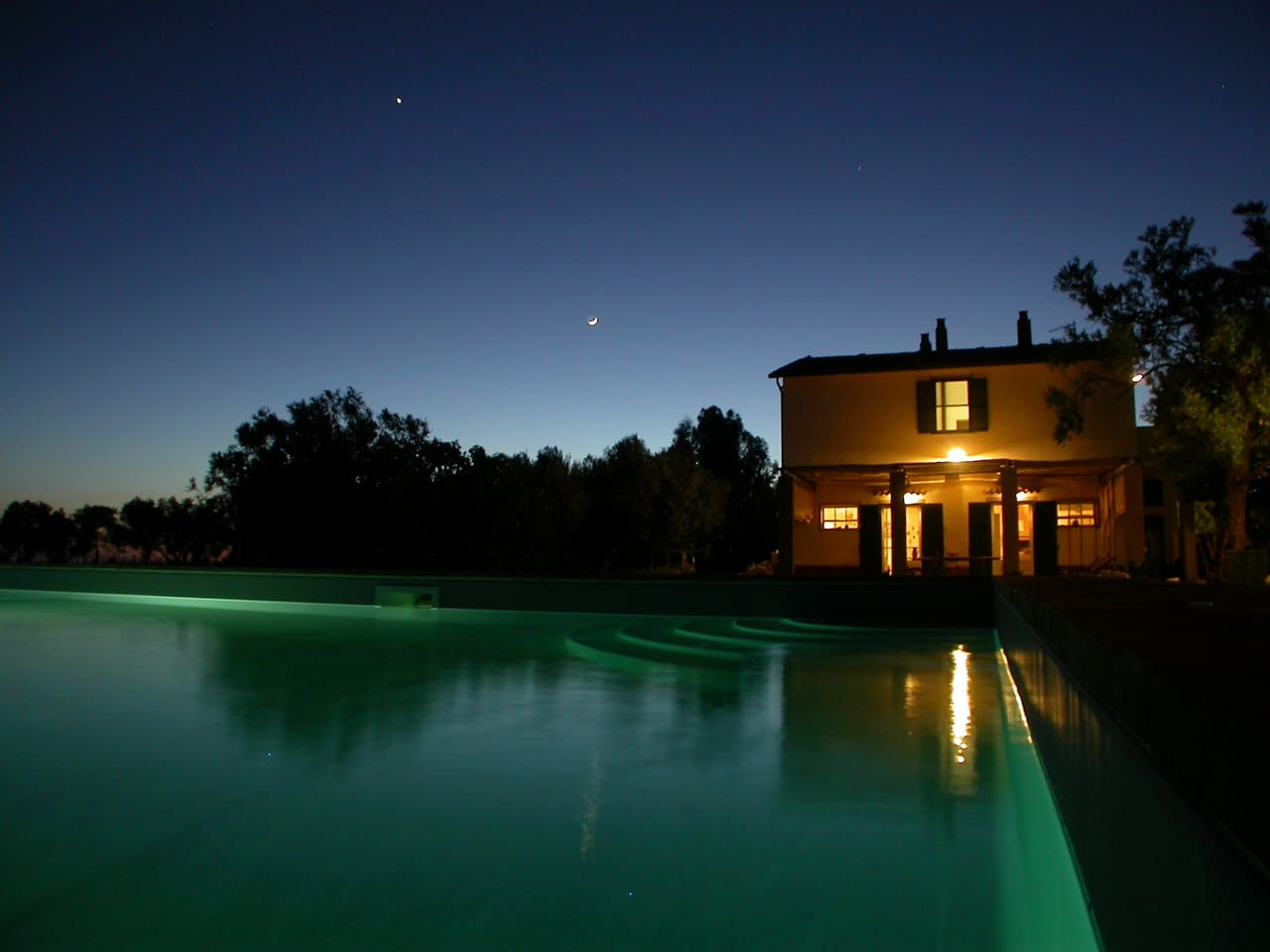il Podere from swimming pool