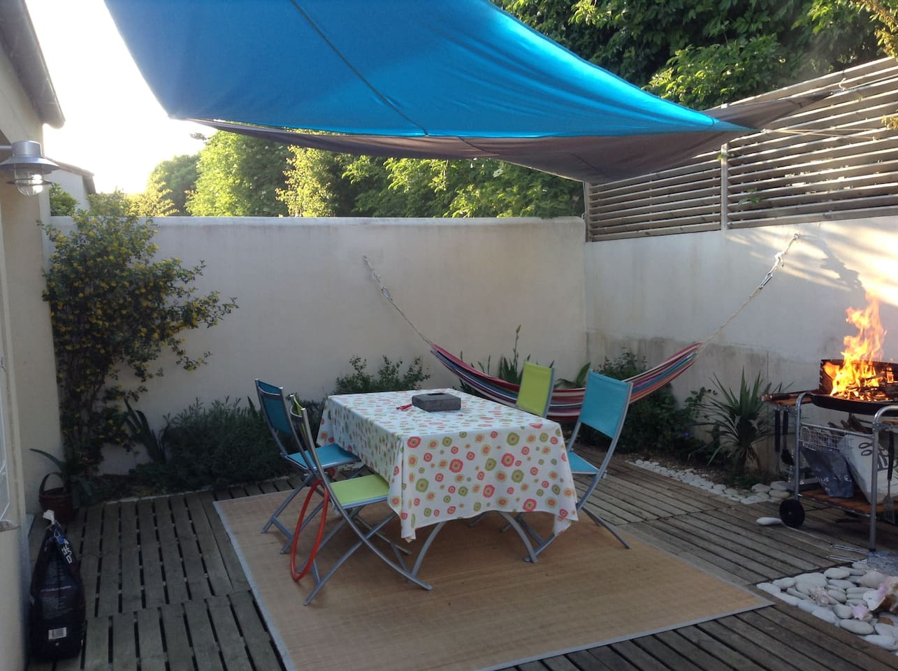 3BR House with Garden La Rochelle