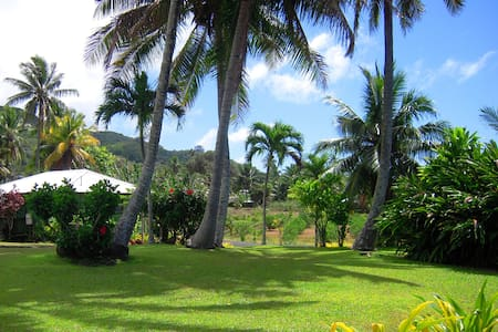 GETAWAY IN TROPICAL GARDENS-HOUSE 1 - RAROTONGA - House
