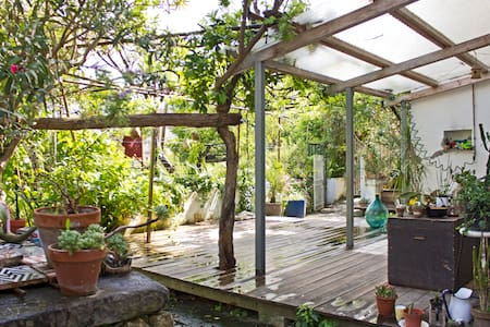 PANORAMIC DEPENDANCE WITH GARDEN - Neapel - Wohnung