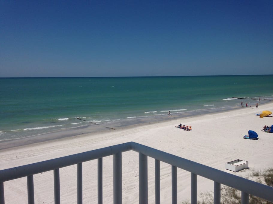 WOW there really is nothing quite like the SENSATIONAL  WRAP Around Balcony!! So close to the Ocean you could kiss it! This is your view on a bright sun shiney day from the corner point of the wrap around balcony! You will be amazed at the beauty of the S