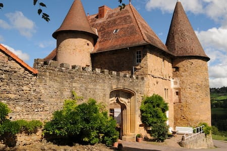 Château de Barnay - South Burgundy - Saint Martin de Lixy - Zamek