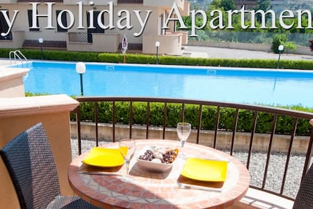 Fabulous Pool View Wi Fi Apartment - Appartement