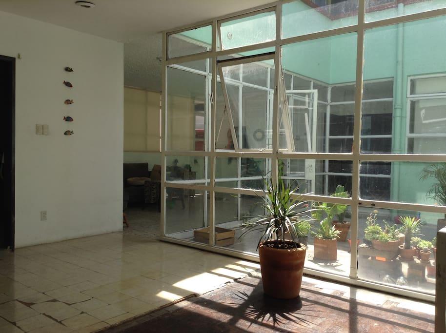 Patio mexicano