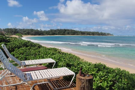 1 BEDROOM ON BEAUTIFUL SANDY BEACH - 一軒家