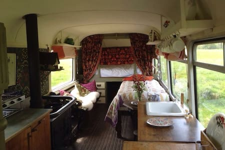 Vintage Bus 5 Bed nr Weymouth coast - Camping-car/caravane