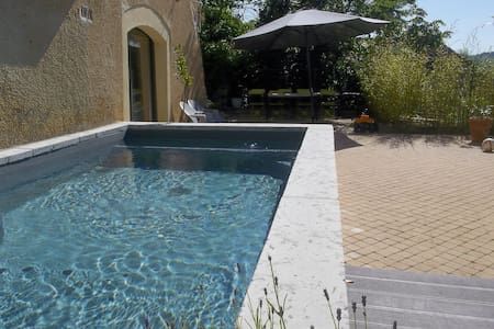 Pretty studio + pool near Cahors - Apartment