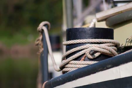 Authentieke scheepskajuit op Dender - Geraardsbergen - Bot