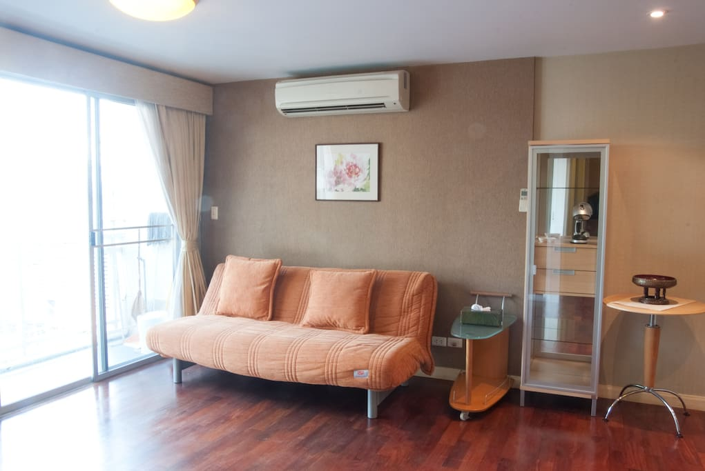 2-BR condo near BTS on Sukhumvit Rd