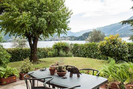 Amazing lake of Como view - House