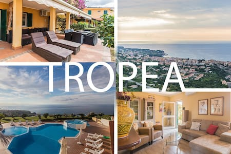 PERLAVISTA Tropea.. our place most beautiful view! - Lejlighed