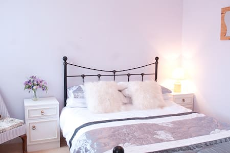 "Sunny Double ""Lilac"" Bedroom  - Angmering"